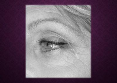Maquillage Permanent eye liner haut Nimes Ysabel Marignan