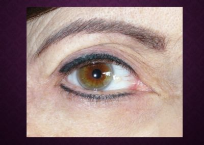 Maquillage Permanent eye liner haut et bas Nimes Ysabel Marignan