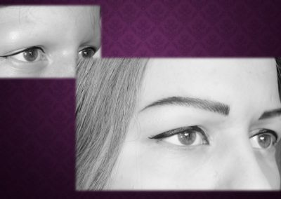 Maquillage Permanent Sourcils en poil à poil suite alopecie Nimes