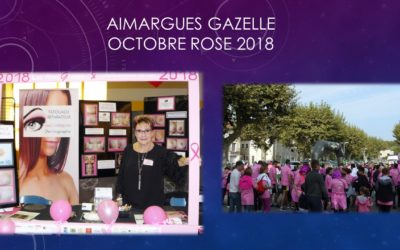 AIMARGUES GAZELLE octobre rose 2018