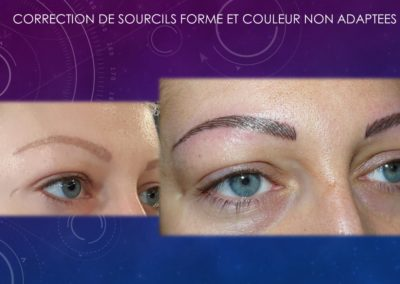 maquillage permanent nimes correction sourcils ysabel marignan