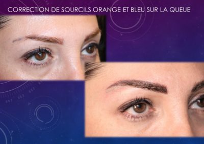 CORRECTION SOURCILS ORANGES