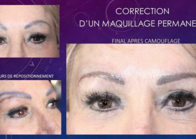 Correction Maquillage Permanent Sourcils - Nîmes Ysabel Marignan