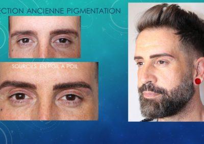 Maquillage Permanent Sourcils Homme - Ysabel Marignan Nimes