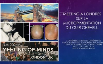 Meeting of minds Micropigmentation du cuir chevelu mai 2019