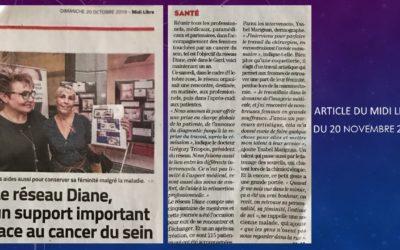 Diane – Le réseau qui aide les femmes atteintes du cancer du sein