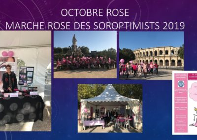 octobre rose nimes ysabel marignan soroptimistes