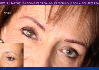 maquillage permanent Nîmes, marseille,montpellier,alès sourcils poil a poil, sourcils hairstock