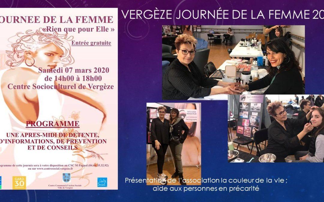 Journée de la femme à Vergèze 2020 - Maquillage Permanent Nimes Ysabel Marignan
