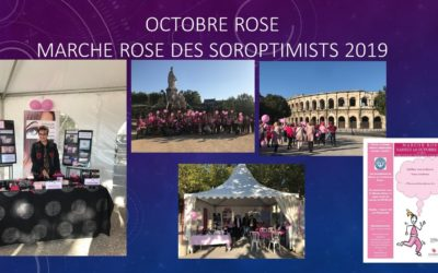 Les Soroptimistes – Marche rose octobre 2019