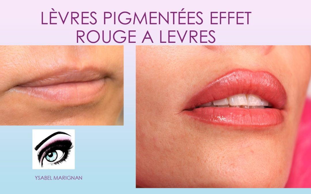 LEVRES PIGMENTEES DERNIERE GENERATION TECHNIQUE CANDY LIPS
