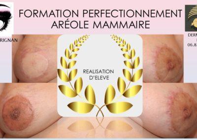 TATOUAGE aréole 3D Nîmes, Montpellier,MARSEILLE, Isabelle MARIGNAN