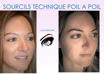 microblading digital sourcils naturels poil a poil nimes isabelle marignan