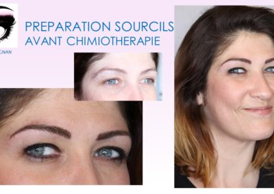 maquillage permanent avant chimio preparation sourcil avant chimio nimes institut du sein nimes diane