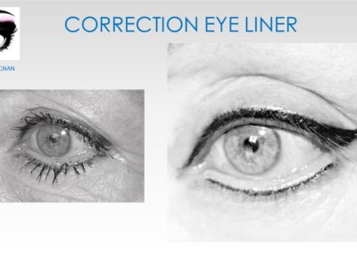 CORRECTION EYE LINER, eye liner ratés nimes montpellier, marseille ysabel marignan tatouages réparateurs