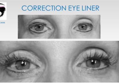 eye liner raté solution