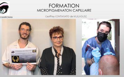 FORMATION MICROPIGMENTATION CAPILLAIRE