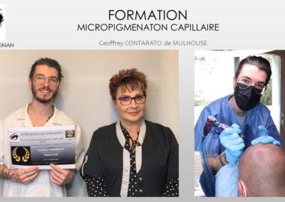 formations isabelle marignan smp micropigmentation capillaire, tricopigmentation nîmes, montpellier, avignon, alès, arles