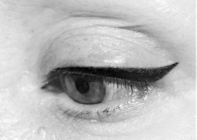 eye liner tatoué maquillage permanent nîmesn montpellier, arles, avignon, alès,